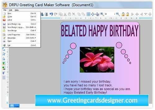 Greeting Cards Designer Downloads screenshot