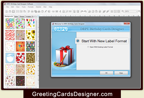 birthday cards designer software creates picture message birth day cards