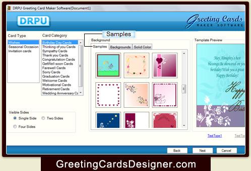 Screenshots of greeting cards designing software to make new year greeting cards designer software m4hsunfo