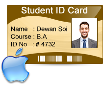 Students Id Cards Maker For Mac Design Multiple Student Id Cards On Mac